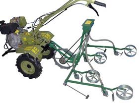 Сеялка механическая точного высева СМТ-4 для мотоблока